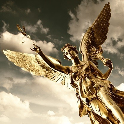 Courtwind Angel Spirit Named Sangril - Protection, Security, Strength