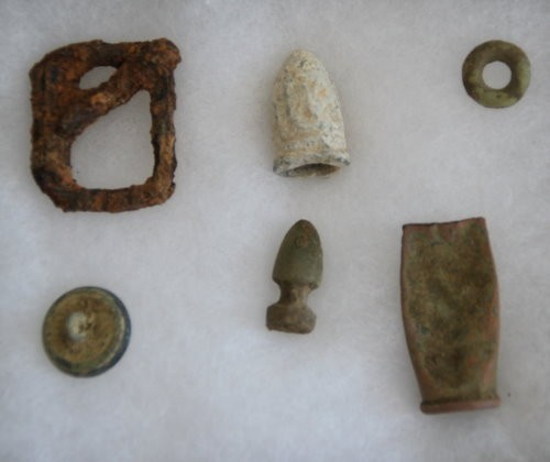 PARANORMAL ARTIFACT :: CIVIL WAR RELICS TAKEN FROM UNION CAMP SITE IN VIRGINIA (CLASS 5, TIER 3)