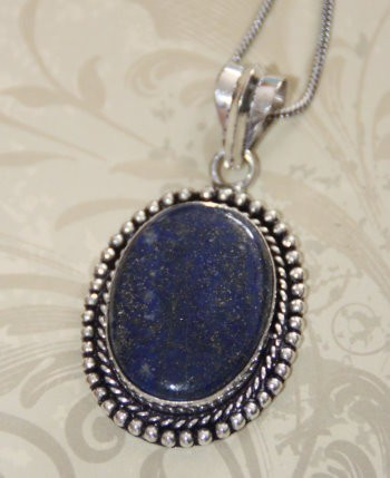 BE INSPIRED :: YOUR CUSTOM CHOICE OF CONJURATION OR ENCHANTMENT :: LAPIS STONE NECKLACE