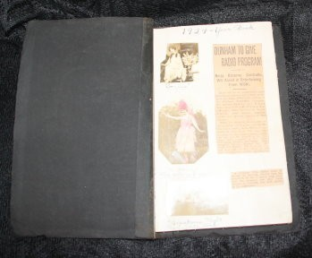 PARANORMAL ARTIFACT :: SCRAPBOOK FOLLOWING CAREER OF CONTRALTO NEITA OSBORNE FROM 1920S (C5, TIER 3)