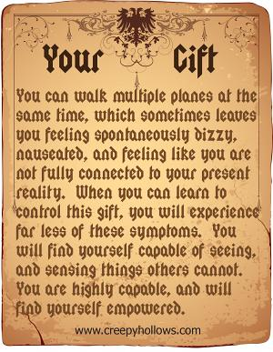 All About You :: Your Gift
