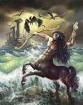 Centaur Spirit Named Morro - Loyal Guardians & Warriors With Sexual Power