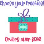 Christmas in July Bonus Freebie - With Orders Over $500 (After Discounts) - Choose An Amazing Freebie!