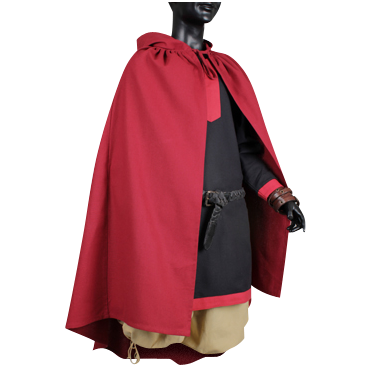 Dark Red Cloak :: The Perfect Cape For All Seasons