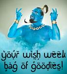 Fantastic Freebie - Your Wish Is Our Command Week!
