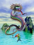 Chinese Dragon Spirit Named Ryh - Power of Wisdom, Insight & Vision