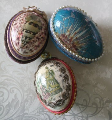ENCHANTED :: YOUR CHOICE OF BINDING ON A BEAUTIFUL, VINTAGE EGG!
