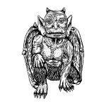 Gargoyle Spirit Named Dilman - Guardian, Guide, Protector