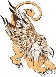 Gryphon Spirit Named Geddea - Hidden Treasure, More Fierce Than Dragons