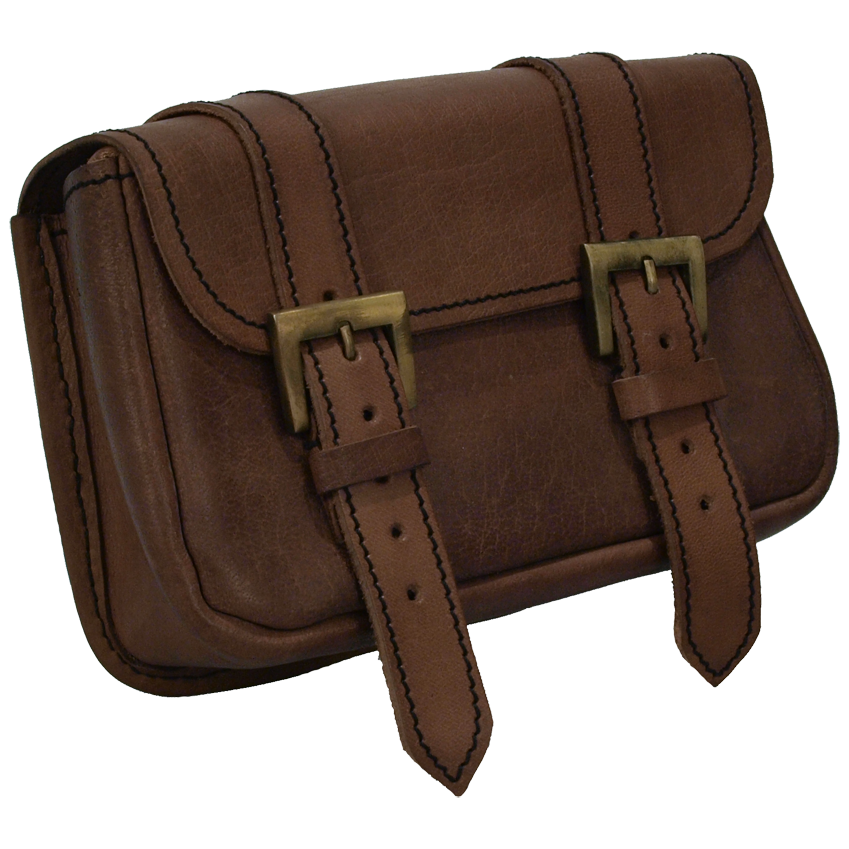 Leather Knight's Pouch - The Perfect Storage For All Your Magickal Goodies