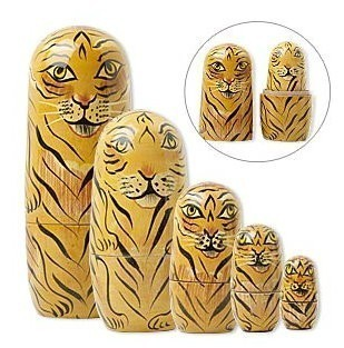 5 BINDING CHAMBERS FOR 5 VARIOUS ASPECTS OF THE SPIRITUAL REALM IN BEAUTIFUL NESTING DOLLS