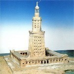 7 WONDERS OF THE WORLD :: LIGHTHOUSE OF ALEXANDRIA