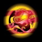 Custom Conjure Orange Dragon© :: Hybrid :: Graceful, Treasure Seeker, Delightful, Sincere, Honest