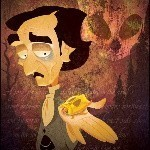 The Gold-Bug Spell for Edgar Allan Poe Tribute
