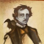 The Raven Spell for Edgar Allan Poe Tribute