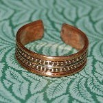 COPPER IMBUED RING :: REPELLING, CLEANSING & PROMOTING HEALTH