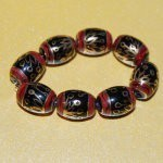 8 HAND-PAINTED, SPELLED BEADS (C5, TIER 3)