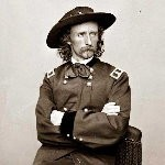 Gen George Custer Channeling Stones