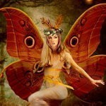 AMADAN ~ IRISH FAERY OF LUCK & WEALTH :: ERILINE (C5)