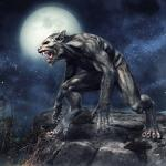 Werewolf Spirit Named Lital - Dark Arts - Protective Guardian & Mystical Companion