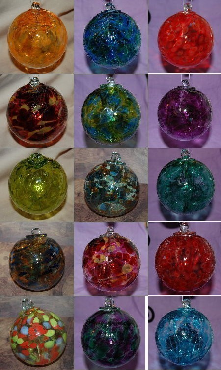 WITCH BALL :: HAND-BLOWN, EACH UNIQUE, POWERFUL