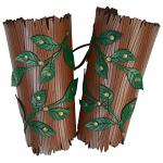 Woodland Vine Elvish Bracers :: Inspiration In Armor From The Forest