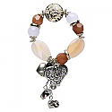Charm Bracelet Spelled For Success, Good Luck, Prosperity, & Creativity
