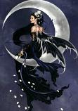 Lunar Angel Spirit Named Shilval - Ethereal Royalty & Power