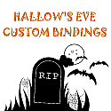 Pre-Order Halloween Custom Of 6 Bindings