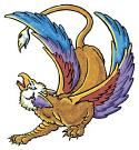 Gryphon Spirit Named Vik - Prosperity, Good Luck, Happiness