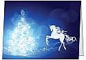 Holiday Card :: Unicorn & Tree