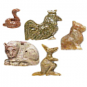 GOING WILD! :: GEMSTONE ANIMAL AMULET WITH SHORT READING :: READING & SPELL, NOT A SPIRIT