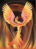 Phoenix Spirit Named Melle :: Eternal Bird Of Power