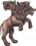 CERBERUS :: HOUND OF HADES :: FIGHTER, GUIDE, & WARNS OF TROUBLE :: LANGDREN