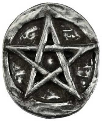Pentagram Pocket Stone