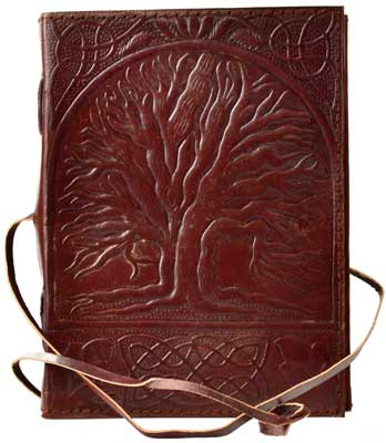 Sacred Oak Tree Leather W/Cord