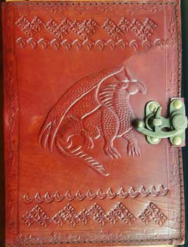 Dragon Leather W/ Latch