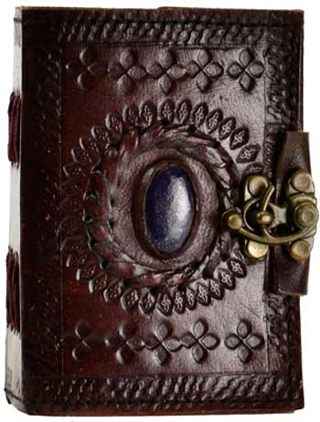 Stone Eye Leather W/ Latch