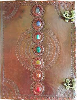 Chakra Leather W/ Latch