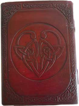 Celtic Heart Leather W/ Latch