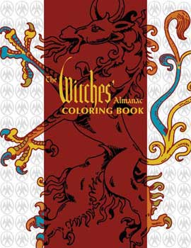 Witches' Almanac Coloring Book