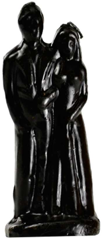Black Marriage Candle