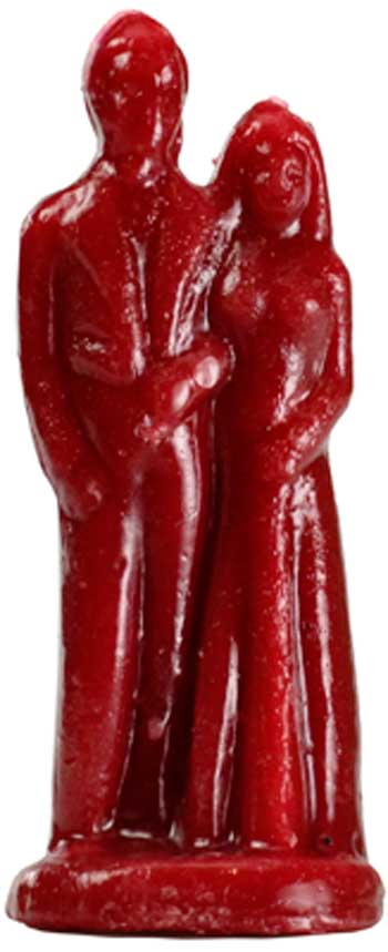 Red Marriage Candle