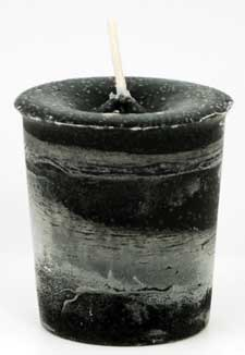 Protection Herbal Votive - Black