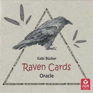 Raven Oracle Cards Deck