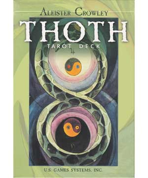 Thoth Tarot (Regular Green) Deck