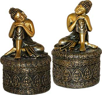 Buddha Trinket Box (Set Of 2)