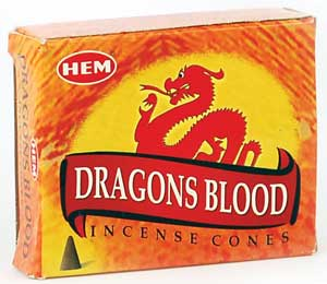Dragon's Blood Hem Cone 10pk