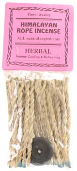 Herbal Tibetan Rope Incense