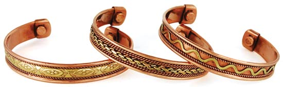 Copper Magnetic Bracelet  (Varied)